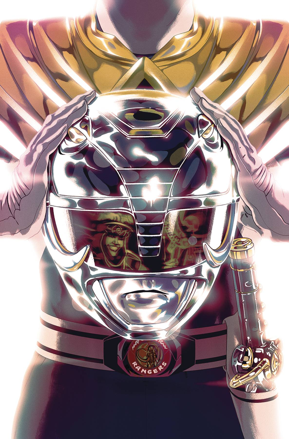 Mighty Morphin Power Rangers  #48 Foil Cover