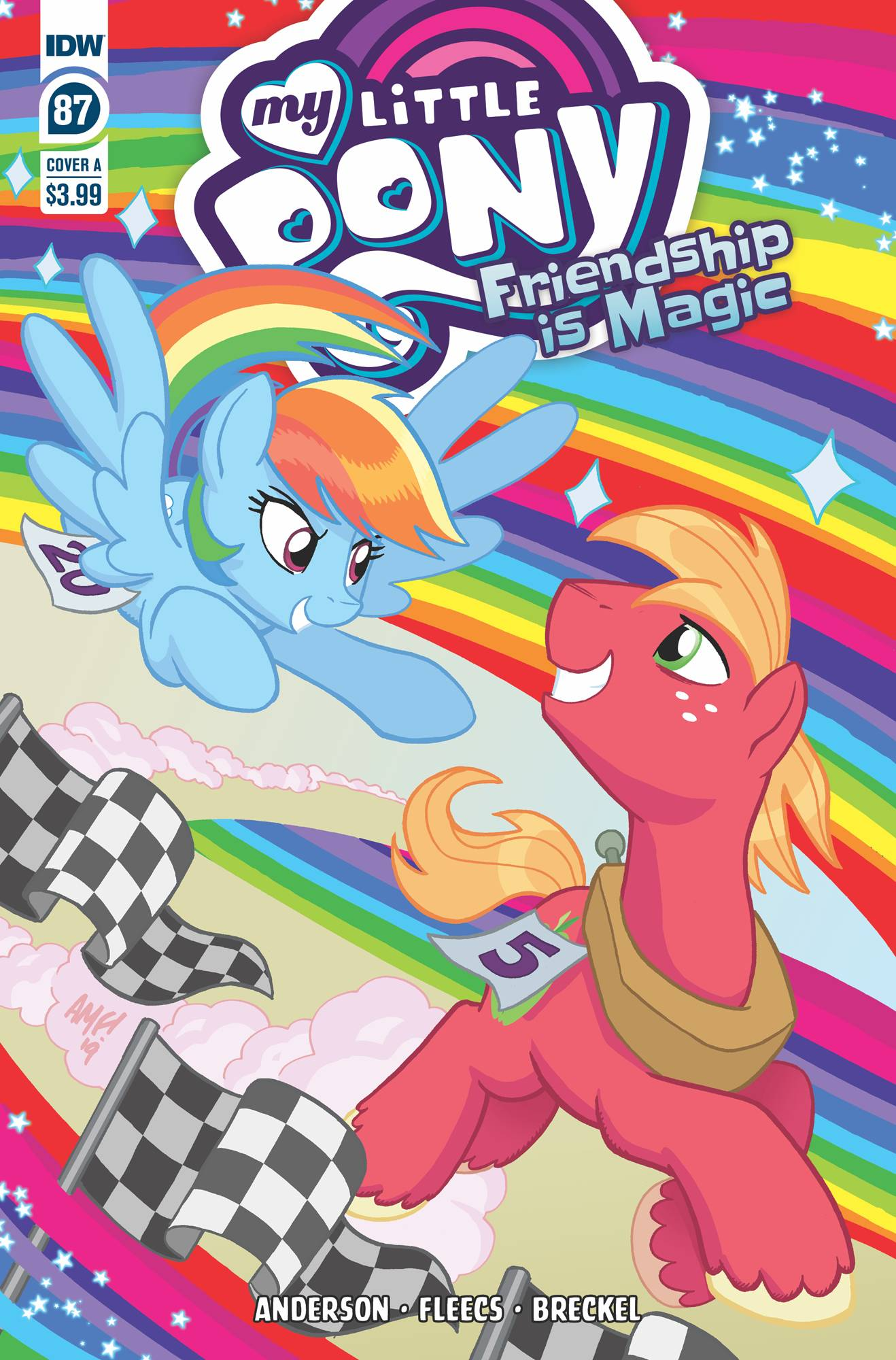 My Little Pony: Friendship Is Magic  #87 Cover A