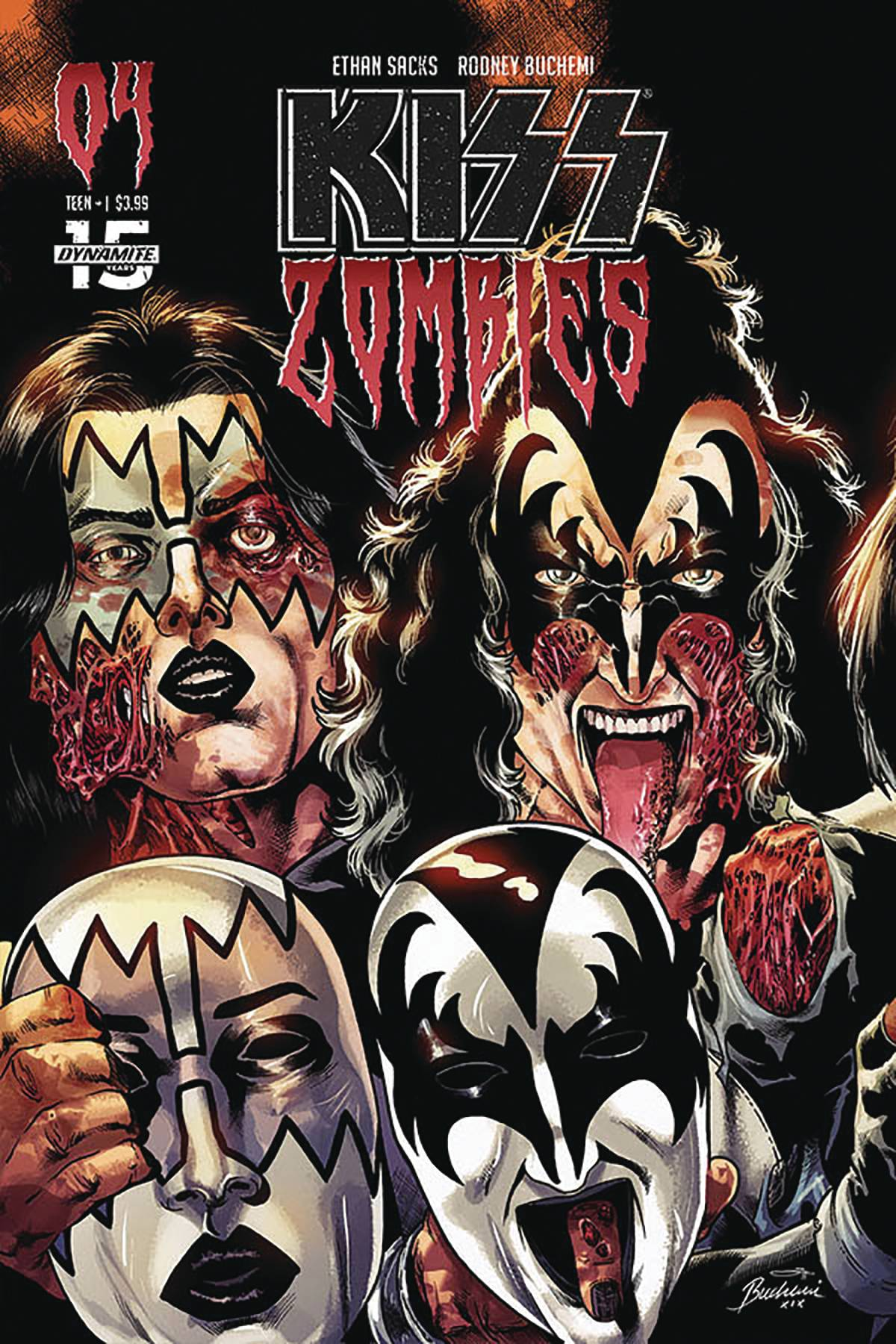 Kiss: Zombies  #4 Cover C