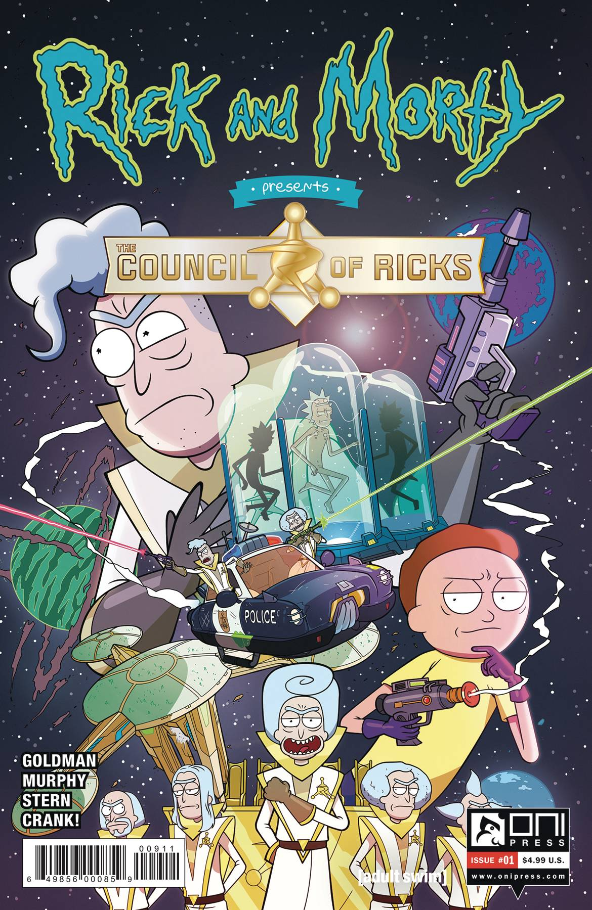 Rick and Morty Presents: Council of Ricks  #1 Cover A