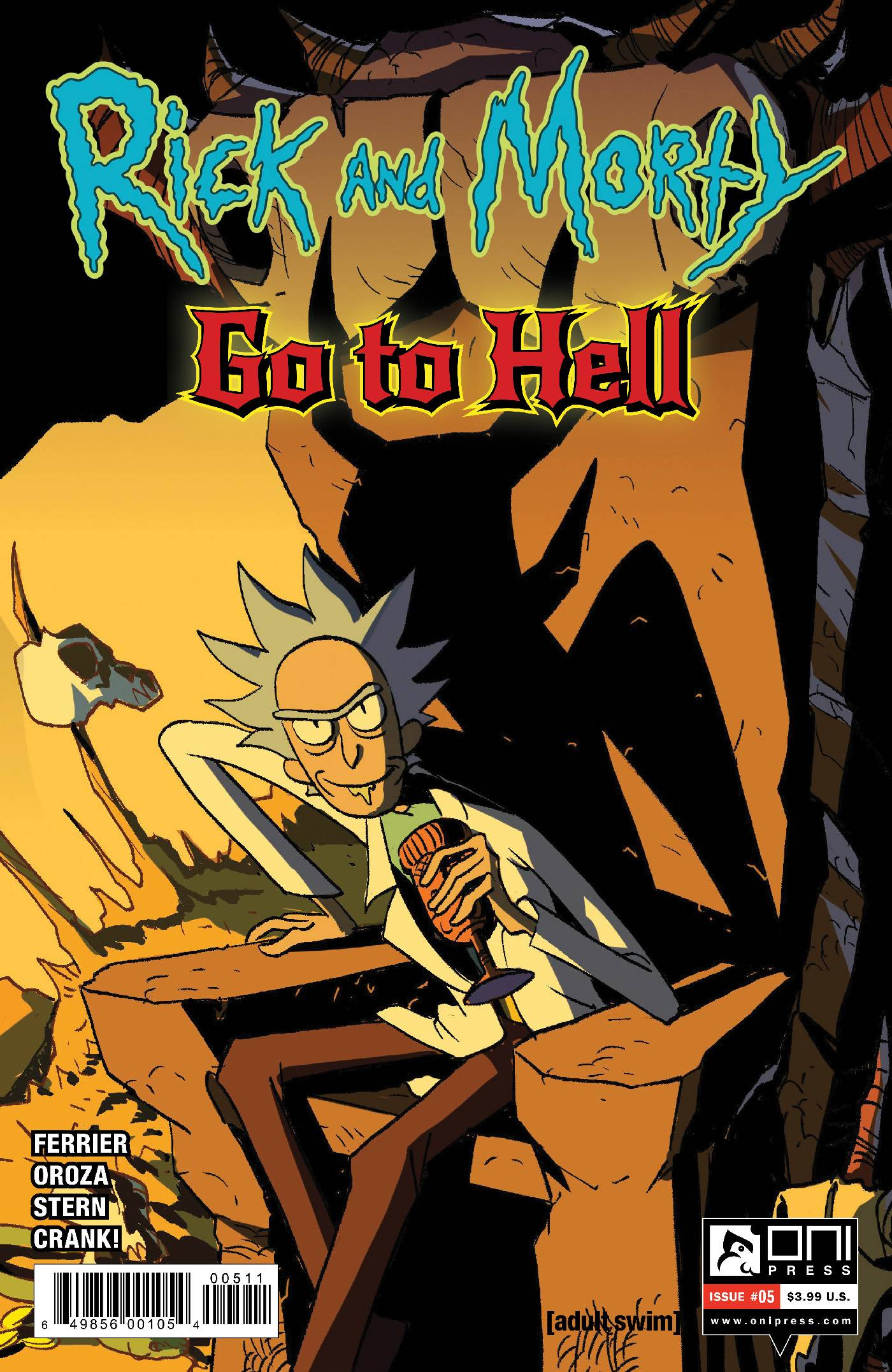 Rick and Morty Go to Hell  #5 Cover A
