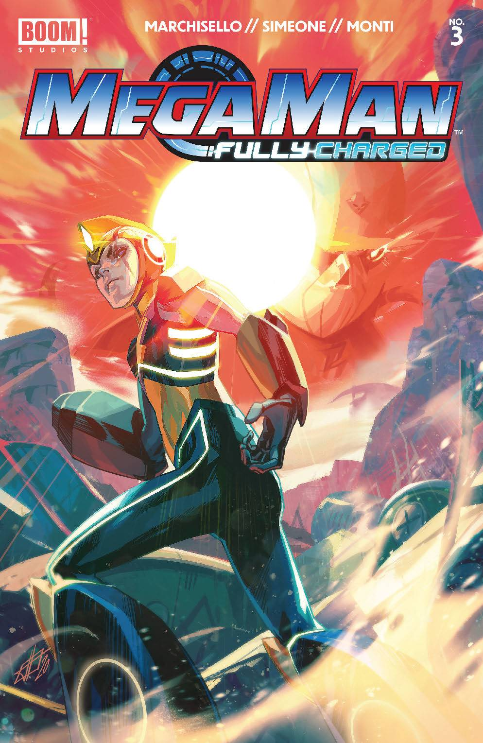 Mega Man: Fully Charged (6P Ms)  #3 Cover A