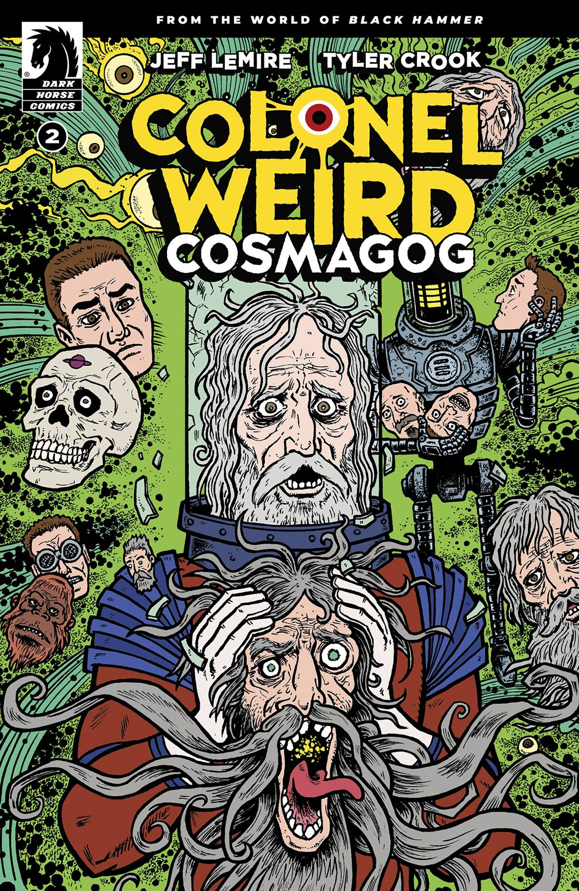 Colonel Weird: Cosmagog (4P Ms)  #2 Cover B