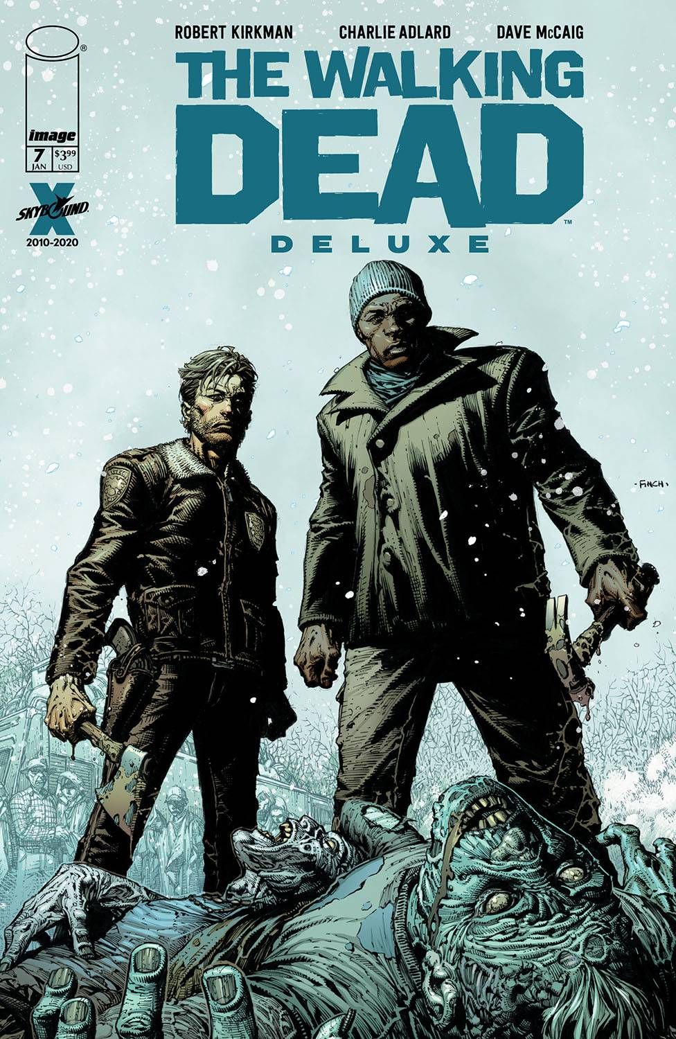 Walking Dead DLX  #7 Cover A