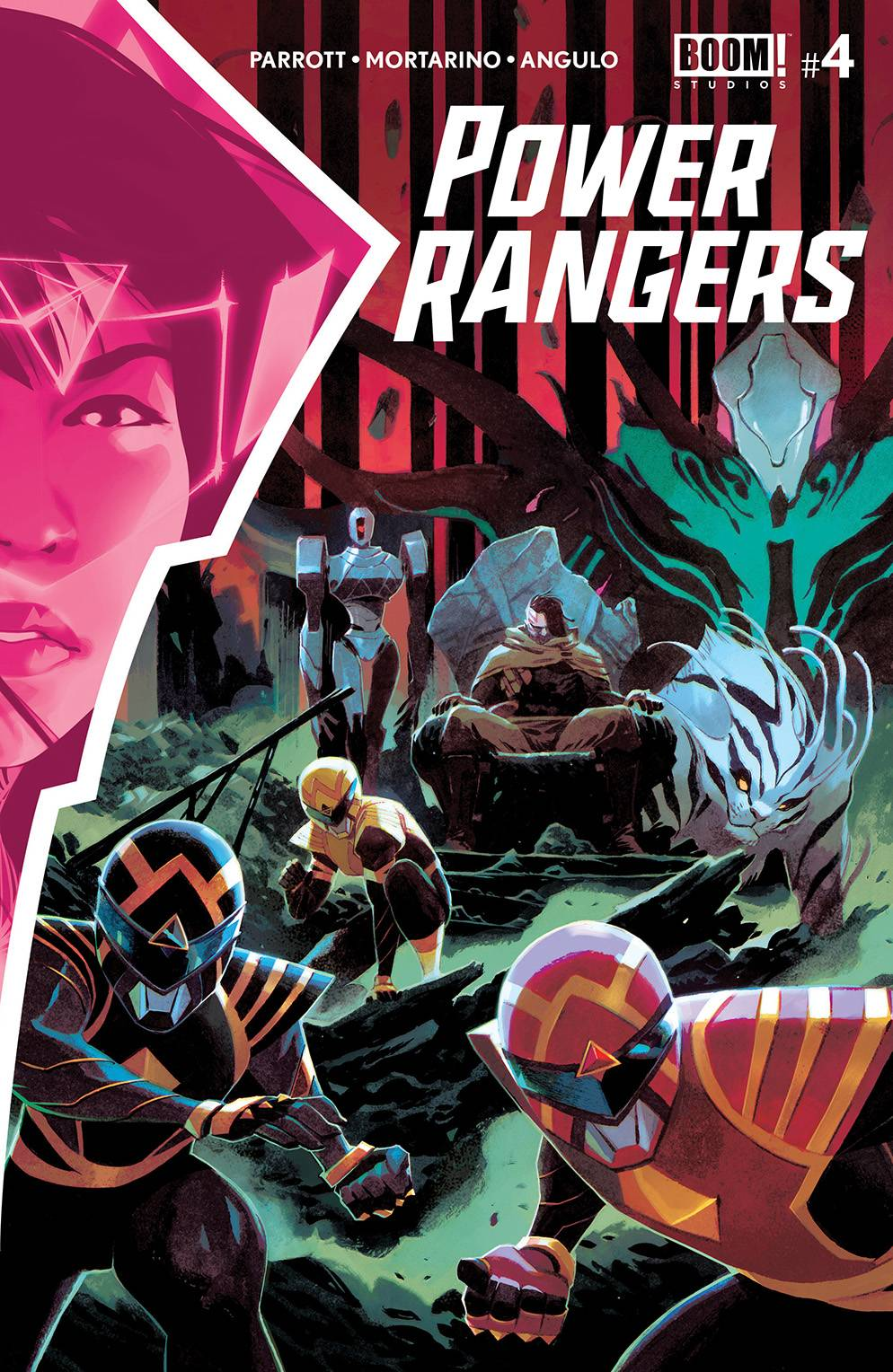 Power Rangers  #4 Cover A
