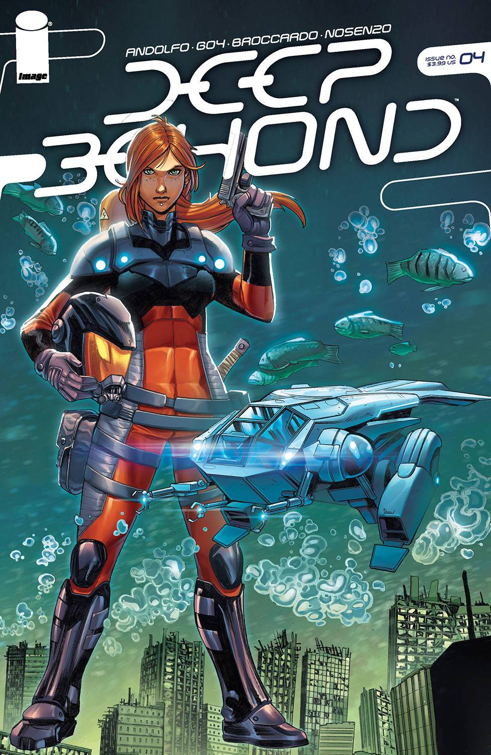 Deep Beyond (12P Ms)  #4 Cover A