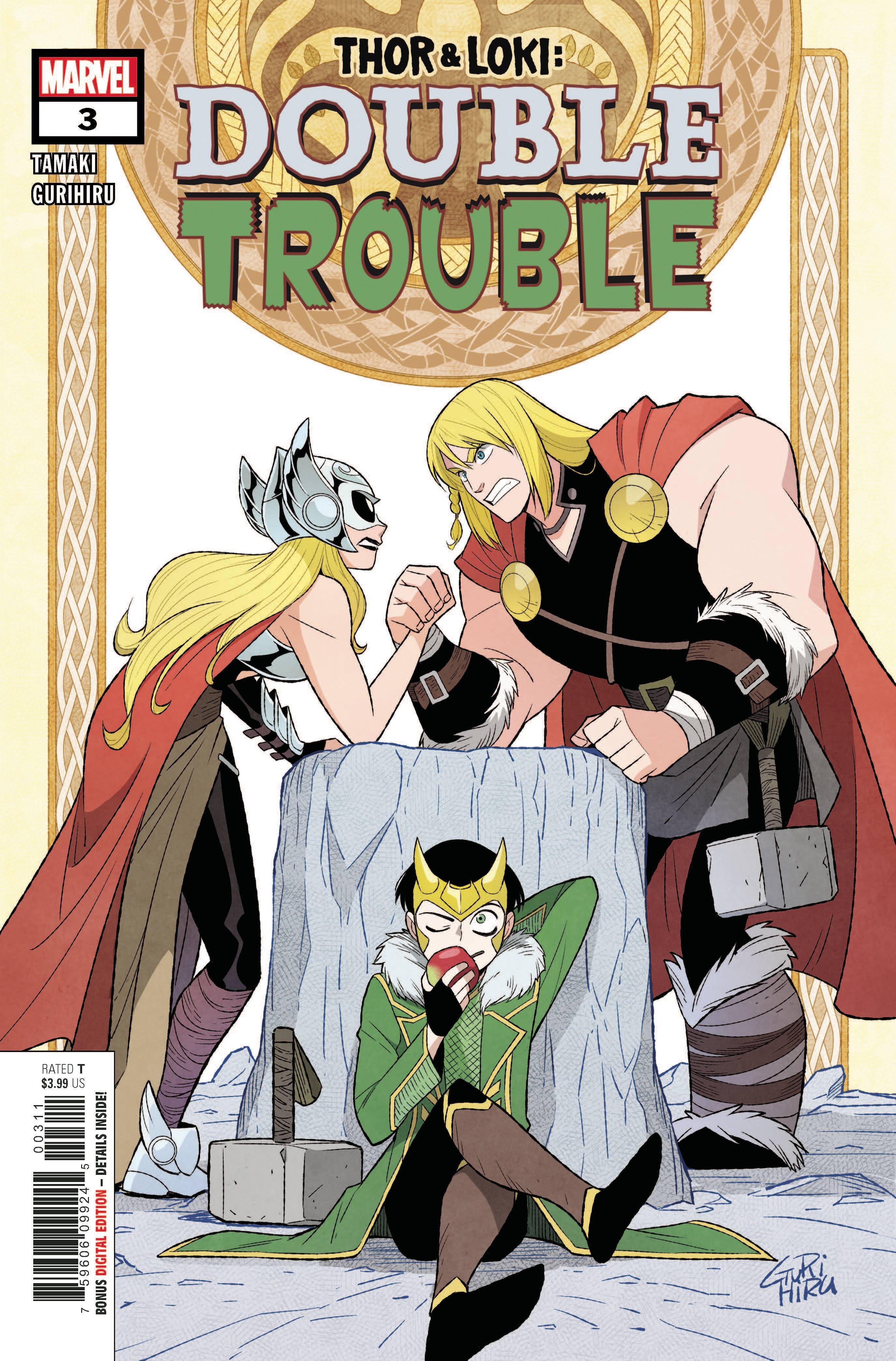 Thor and Loki: Double Trouble (4P Ms)  #3