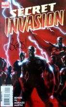 Secret Invasion - DF  #1 Signed Edition