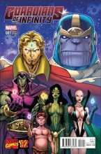Guardians of Infinity  #1 1:20 Variant