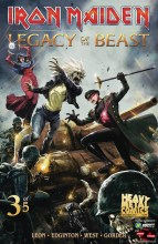 Iron Maiden: Legacy of the Beast (MR)  #3 Cover A