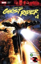 Damnation - Johnny Blaze Ghost Rider  #1
