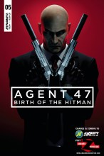 Agent 47 - Birth of the Hitman  #5 Cover B