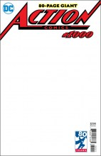 Action Comics (Vol. 3)  #1000 Blank Cover