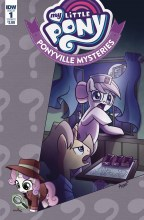 My Little Pony: Ponyville Mysteries  #1 Cover A