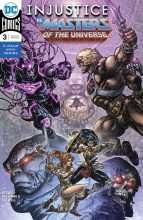 Injustice vs He-Man and the Masters of the Universe  #3