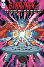 Star Trek Vs Transformers  #4 Cover A