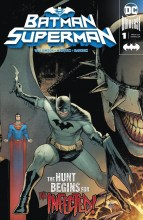 Batman - Superman  #1 Batman Cover