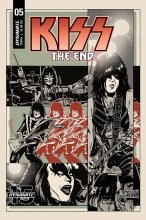 Kiss End  #5 Cover B