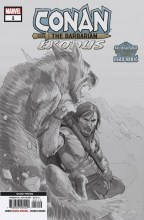 Conan the Barbarian: Exodus  #1 Variant - 2nd Print