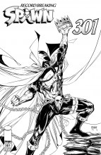 Spawn  #301 Cover I - B&W Mcfarlane