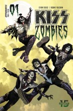 Kiss: Zombies  #1 Cover A