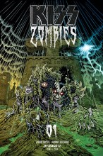 Kiss: Zombies  #1 1:7 Variant