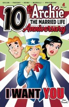 Archie the Married Life 10th Anniversary (6P Ms)  #4 Cover A