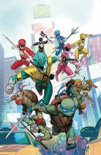 Power Rangers - TMNT (5P Ms)  #1 Cover A