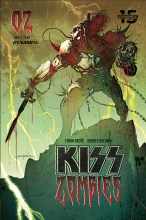 Kiss: Zombies  #2 Cover B