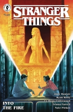 Stranger Things: Into the Fire (4P Ms)  #1 Cover A