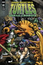 TMNT Urban Legends  #21 Cover A
