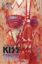 Kiss: Zombies  #3 Cover A