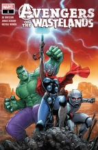 Avengers of the Wasteland (5P Ms)  #1