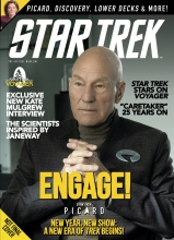 Star Trek Magazine  #74 Newsstand Edition