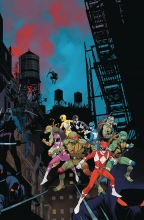 Power Rangers - TMNT (5P Ms)  #3 Cover A