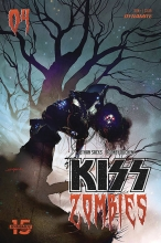 Kiss: Zombies  #4 Cover B