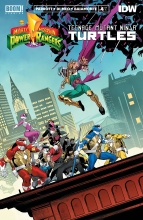 Power Rangers - TMNT (5P Ms)  #4 Cover A