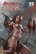 Red Sonja: Age of Chaos  #3 Cover A
