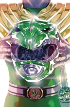 Mighty Morphin Power Rangers  #49 Foil Cover