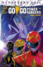 Go Go Power Rangers  #32 Cover A