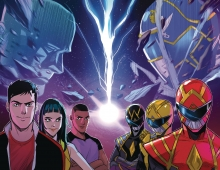 Go Go Power Rangers  #32 Foil Cover