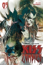 Kiss: Zombies  #5 Cover B