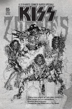 Kiss: Zombies  #5 1:7 Variant