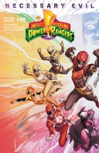 Mighty Morphin Power Rangers  #50 Cover A