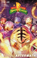 Mighty Morphin Power Rangers  #51 Cover A