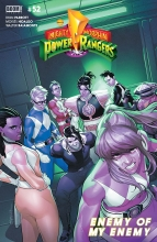 Mighty Morphin Power Rangers  #52 Cover A
