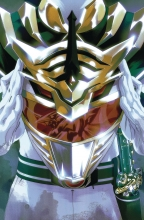 Mighty Morphin Power Rangers  #52 Foil Cover