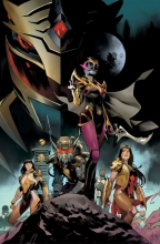 Power Rangers: Drakkon New Dawn (3P Ms)  #1 1:10 Variant