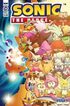 Sonic the Hedgehog  #30 Cover A