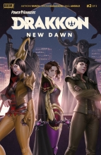 Power Rangers: Drakkon New Dawn (3P Ms)  #2 Cover A